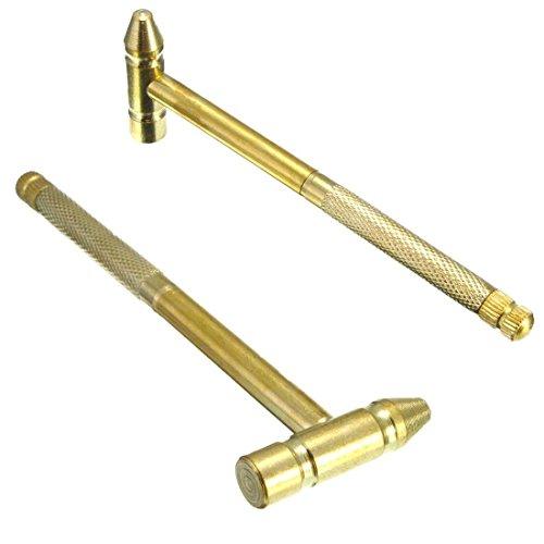 Hanperal 6 in1 Micro Mini Multifunction Copper Hammer 4 kinds Screwdrivers DIY Handy Tool
