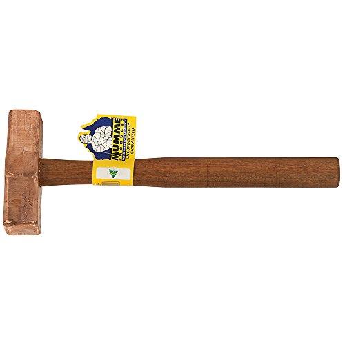 Klein Tools 7HCH10 Copper Hammer Wooden Handle 10-Pound