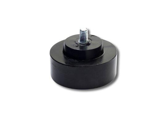 Nupla 15120 Nylon Hard Cushion Blow Soft Face Hammer Tip 125 Diameter Black