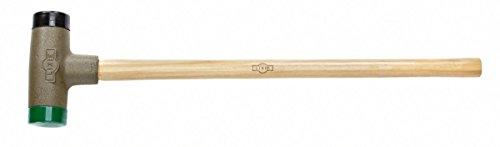 Lixie 250H-SH-32 - 110 Oz Dead Blow Sledge - 2-12 Dia Replaceable Soft Hard Urethane Faces