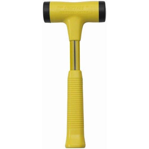 Nupla STP24 Strike Pro Power Drive Dead Blow Hammer C Grip Yellow 1225 Long Handle