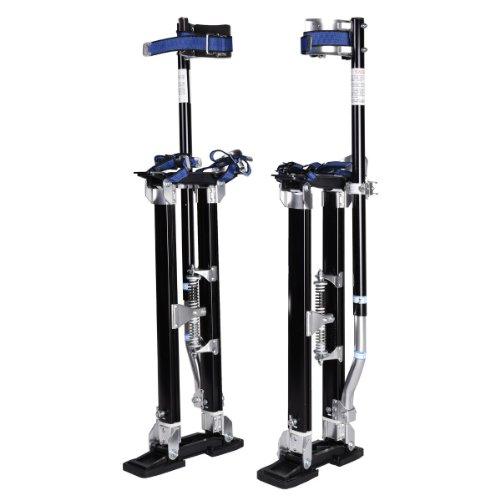 24-40 Inch Drywall Stilts Adjustable Aluminum Stilt Walking Painting Dura Taping Painter Tools