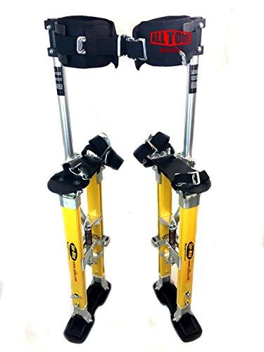 SurPro Interlok Magnesium Drywall Stilts 24-40 in SUR-SS-2440MP