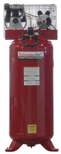 Schrader SA1560 Consumer 2 HP 60-Gallon Stationary Air Compressor