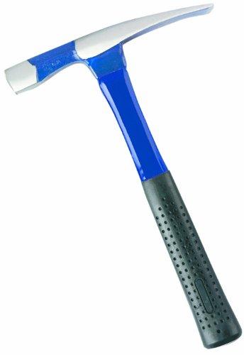 Bon 11-307 18-Ounce Steel Brick Hammer with Fiberglass Handle