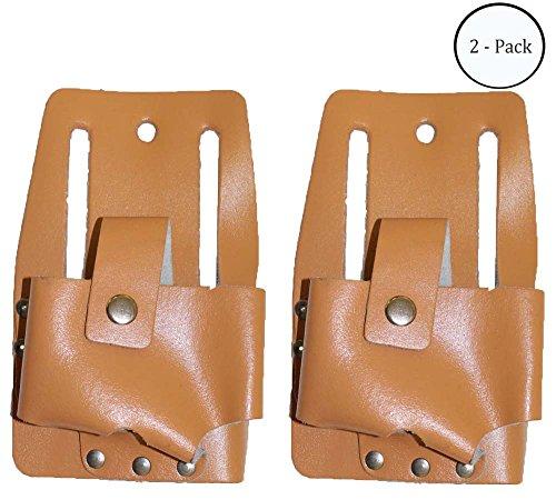 Measuring Tape Leather Belt Holder 8 x 5   Pack of 2 Pcs