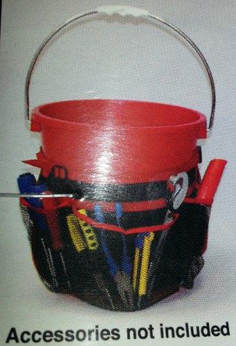 7 Pocket Garden Bucket Tool Caddy Organizer