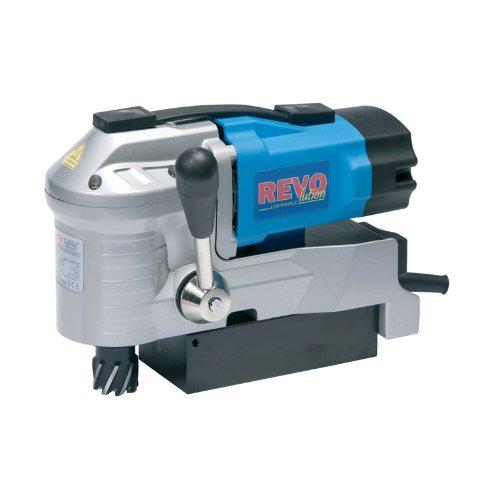 G&J Hall Tools REVO Low Profile 35 Magnetic Drill Press 1-38 Cutting Capacity 110V 4 Width x 8 Height x 11-14 Depth