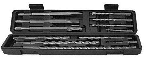12 Pc SDS Plus Type Hammer Drill Bits Set Concrete Masonry Bits Chisel Carbide