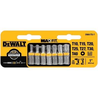 1 in Torx Security Drill Bit Tip Set 7-Piece by DEWALT