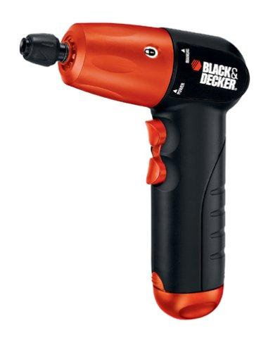 Black Decker AD600 6-Volt Alkaline 14-Inch Hex Cordless DrillDriver with Accessory Assortment