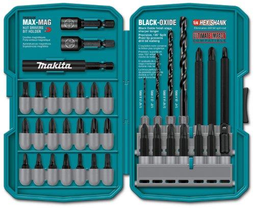 Makita T-01373 38 Piece Impact Drill-Driver Bit Set