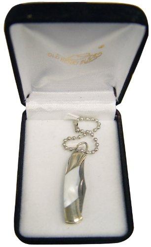 225 inch mini pocket knife keychain with case Buckshot Classic YO-15-1