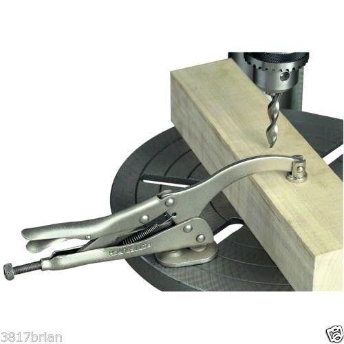 PREMIUM 9 DRILL PRESS VICE GRIP PRECISION LOCKING CLAMP - HOLD VISE DRILLING