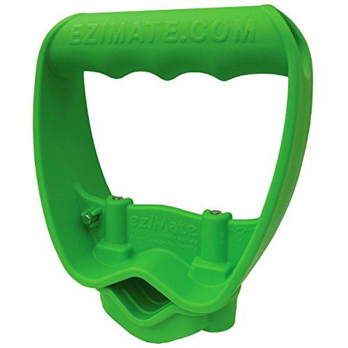 Back-Saving Tool Grip Multi-Tool Handle Labor-Saving Ergonomic Snow Shovel or Rake Handle Attachment GREEN