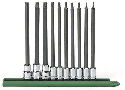 GearWrench 80588 10 Piece Long Torx Set T8-T50