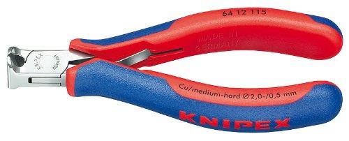 Knipex 64 12 115 End Cutting Nipper 4-12 In Bevel Cut