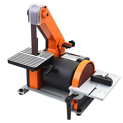 XtremepowerUS 1 X 30 Belt  5 Disc Sander Polish Grinder Sanding Machine Work Station