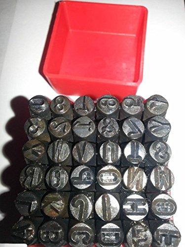 Letter Number Steel Metal Die Stamp Punch Tool Set Kit