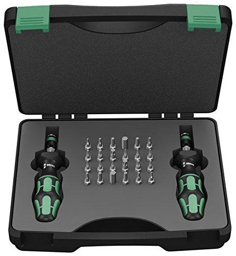 Wera Kraftform 744041 Torque Screwdriver 03-30 Nm and Bit Set 26-Piece