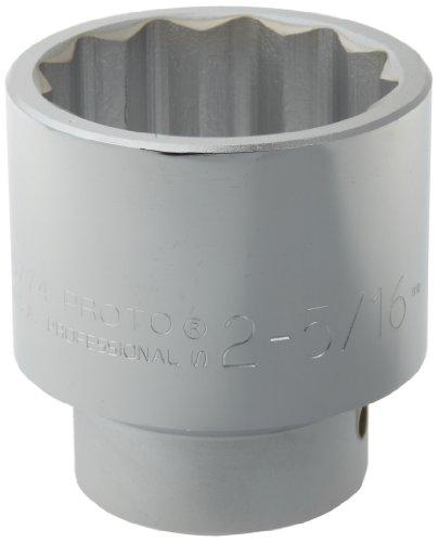Stanley Proto  J5774  1-Inch Drive Socket 2-516-Inch 12 Point