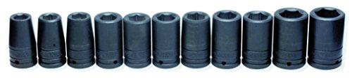 URREA 750010 34-Inch Drive Impact Socket Set in Corrugated Box