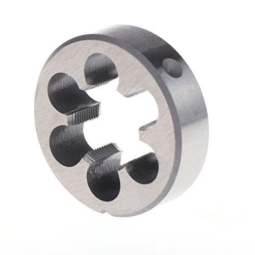 ZFE 1Pc 1-116-16 TPI HSS High Speed Steel America Standard Right Hand Die Machine Thread Die