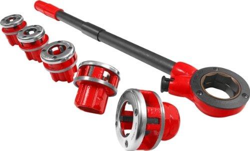 Hand Pipe Threader Die Tool Set