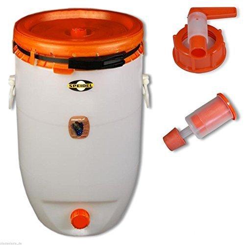 Barrel for fermentation SPEIDEL - Fermenter 120 L round  1 airlock  1 tap 22150137139 by Speidel