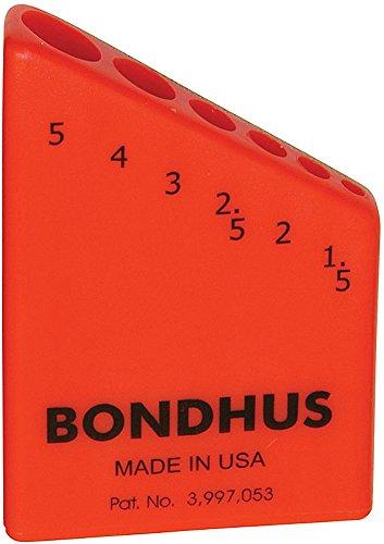 Bondhus - Bondhex Case Holds 6 L-Wrenches 15-5mm 10 pk - 18046