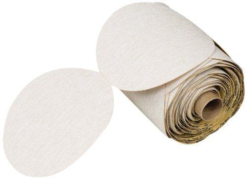 3M NX PSA Paper Disc Roll Aluminum Oxide 6 Diameter P600 Grit Roll of 100