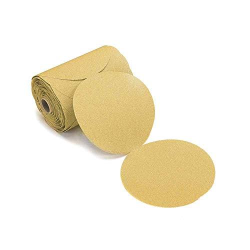 Mirka 23-342-120 Bulldog Gold 6-Inch PSA Linkrol Disc with 120 Grit