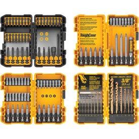 DeWalt 100 Piece Combination Set with ToughCase Storage Container