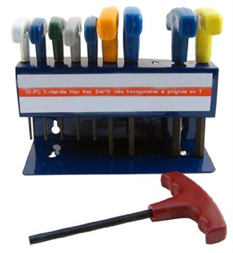 Metric T Handle Hex Allen Wrench Key Set