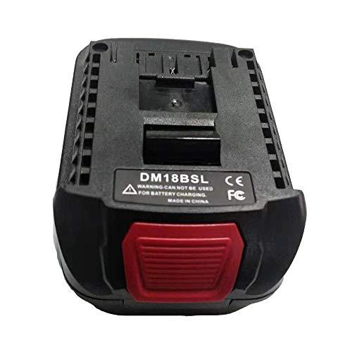 DM18BSL Battery Converter Adapter for Milwakee 18V M18 and for Dewalt 20V Li-ion Battery Used to for Bosch 18V Tool Battery