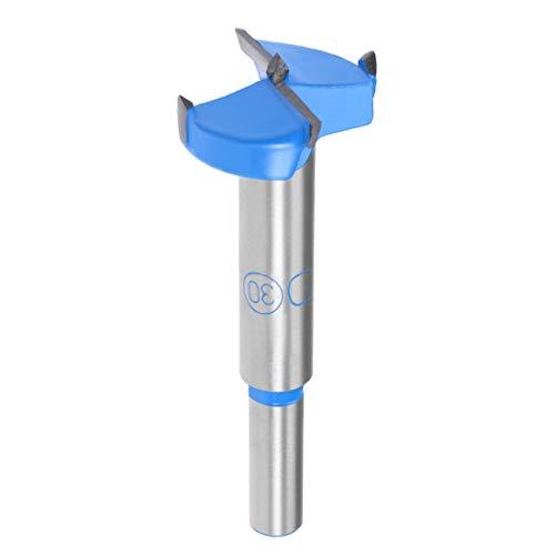 uxcell Hinge Boring Forstner Drill Bit 30mm Diameter 8mm Shank
