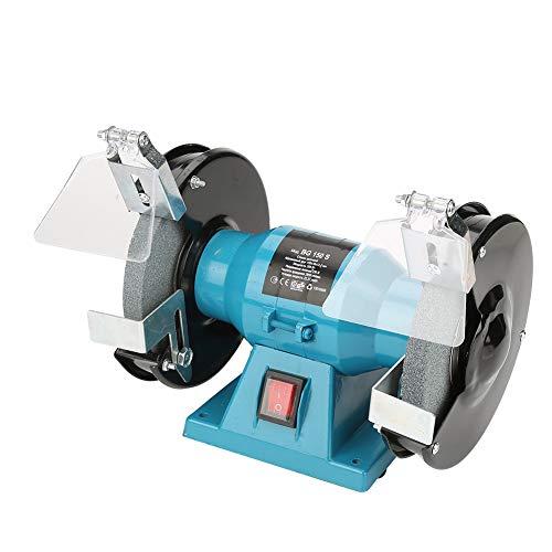 6 Bench Grinder Professional Industiral Electric Polisher Grinding Wheels Machine US Plug 110V