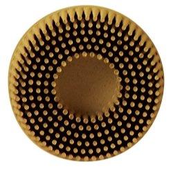 3M 2 Scotch-Brite Roloc Bristle Discs 80 Grit Medium Yellow - MMM7525