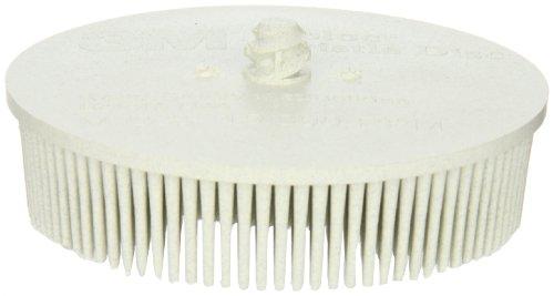 Scotch-BriteTM RolocTM Bristle Disc Ceramic 15000 rpm 3 Diameter 120 Grit White Pack of 10