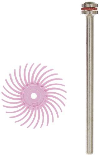 Scotch-BriteTM Radial Bristle Disc 35000 rpm 34 Diameter Pumice Grit Pink Pack of 48