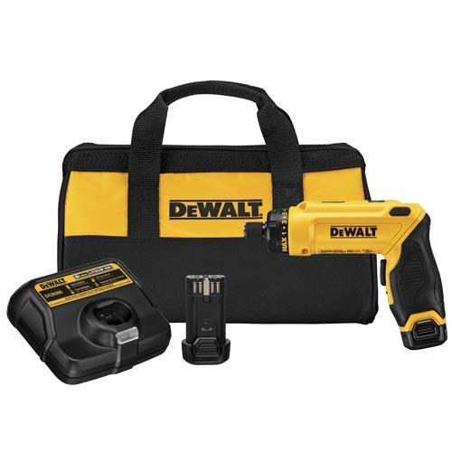 DEWALT 8V MAX Cordless Screwdriver Kit Gyroscopic 2 Batteries DCF680N2
