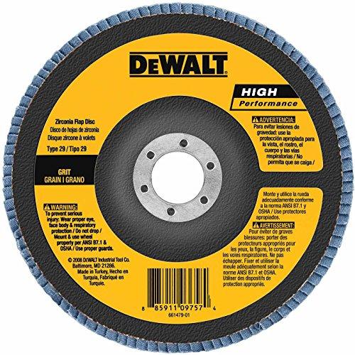 DeWalt DW8381H 6 x 58-11 Type 29 Angle Grinder Flap Disc