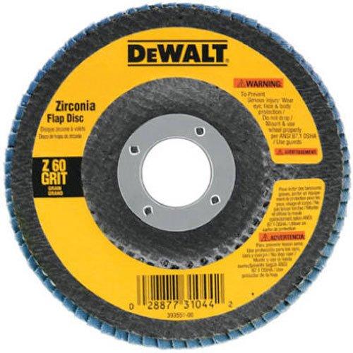DEWALT DW8310 4-12 x 78 120 Grit Zirconia Angle Grinder Flap Disc