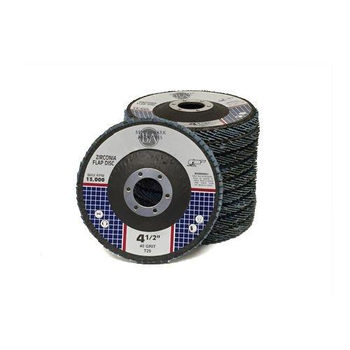 20 45x78 Zirconia Flap Disc Grinding Wheels 40 60 80 120 Grit T29 Bundle