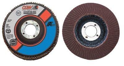 CGW Abrasives - Flap Disc A3 Aluminum Oxide Regular 4-12X58-11 T27 A Cubed Reg 40 Grit Flap Disc - Sold as 1 Each by CGW Abrasives