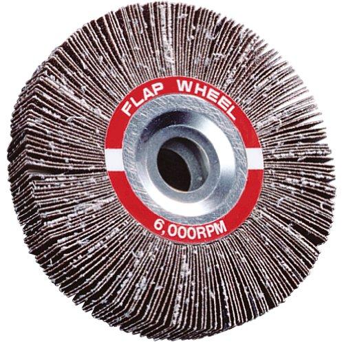 A&H Abrasives 100982 5-pack Misc Flapwheel 6x1x1 Aluminum Oxide 80 Grit Flap Wheel