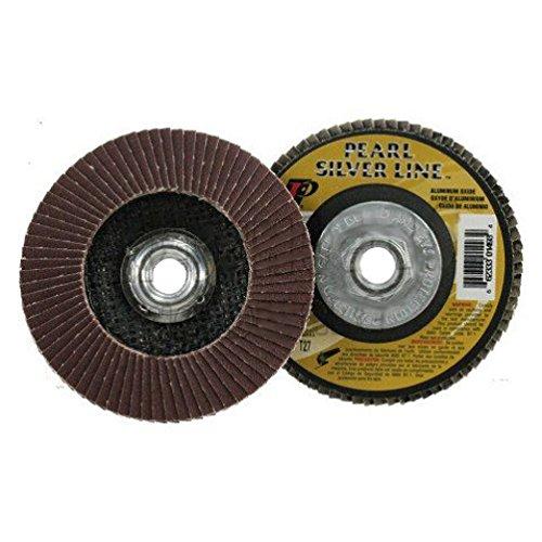 4-12 X 58-11 Threaded 80-Grit Flap Disc