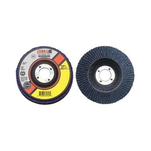CGW Abrasives 421-42115 4X38-24 T27 Z3 REG 80 GRIT FLAP DISC