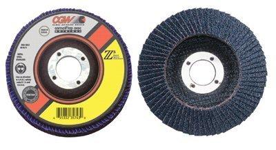 Flap Discs Z3 -100 Zirconia Regular - 4x58 t27 z3 reg 80 grit flap disc by CGW Abrasives