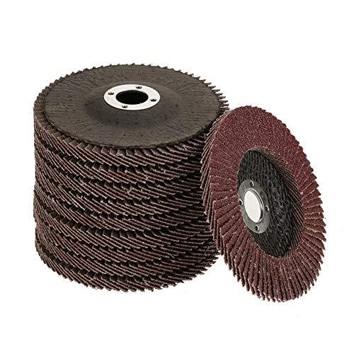 Grinding Sanding Disc 10Pcs Grit 60 Grinding Sanding Disc Polishing Wheel Grinding Flap Disc for 100mm Angle Grinders